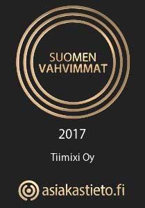 Tiimixi suomen vahvimmat logo